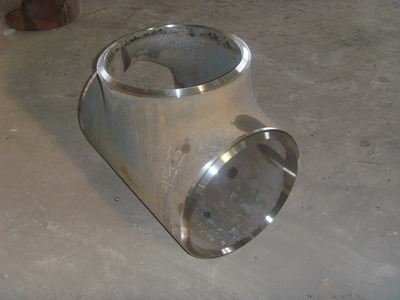 Equal Banded Galvanized Pipe Fitting Tee