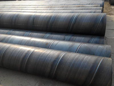 ASTM A53 Spiral Welded Carbon Steel Pipe