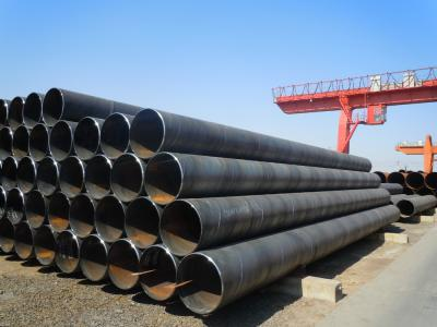 API 5L X70 PSL2 SSAW 3PE Anti-corrosion spiral steel pipe