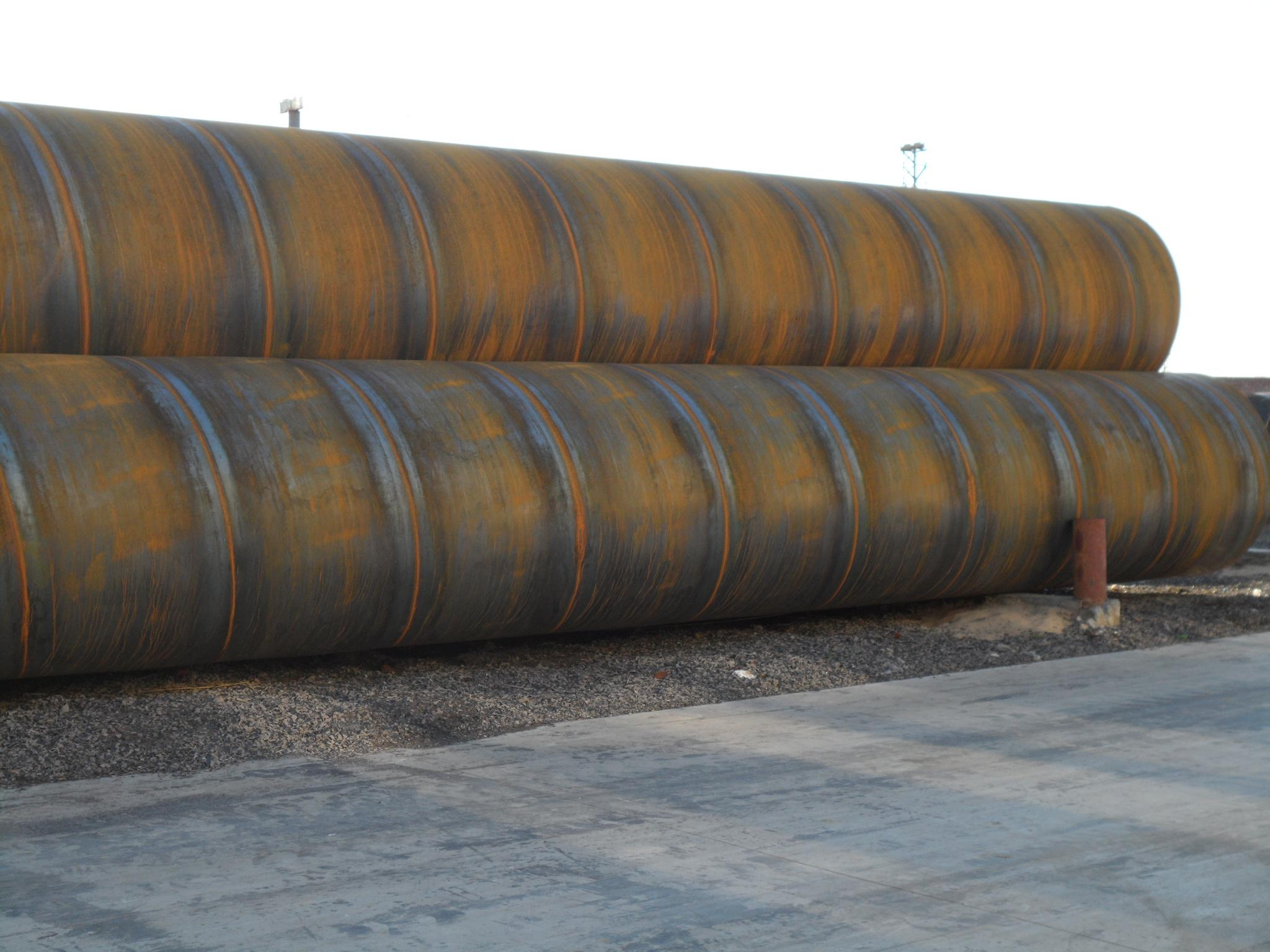 API 5L Gr.B DN 200 welded steel ERW pipe for gas pipe line