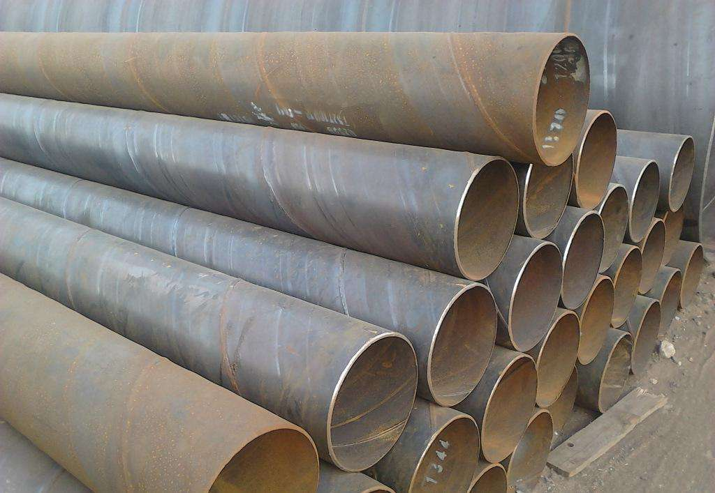 3PE Sch 120 Carbon Welded Spiral Steel Pipe