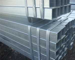 Large diameter hot-dipped rectangular galvanized pipe