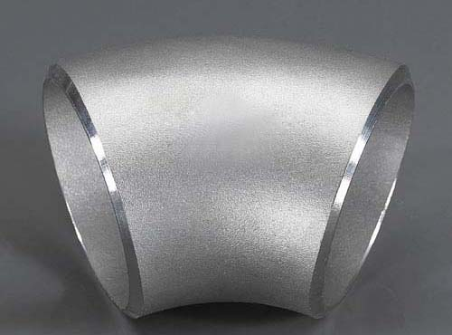 ANSI B16.9 Butt Welded 304 Stainless Steel 45 Degree Elbow