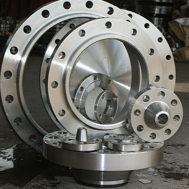 ASME B16.5 Stainless Steel Forged Threaded Flange