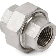 High Pressure Forged Carbon Steel Pipe Fittings Socket Weld Union