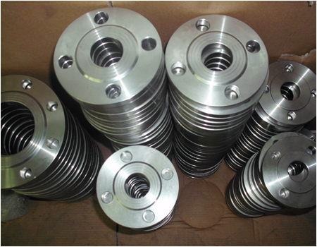 ANSI DN6 Stainless Steel Forged Threaded Flange
