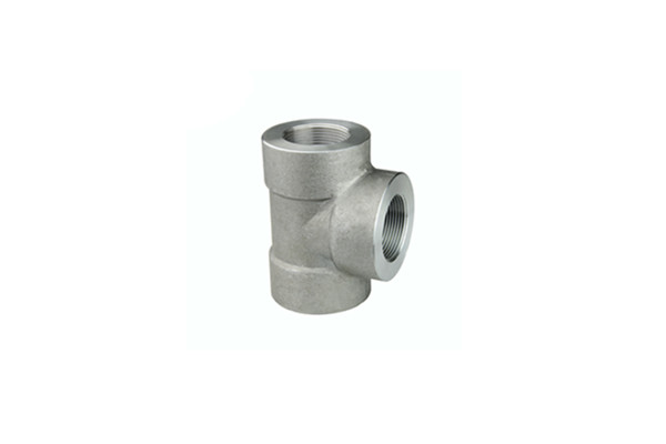 Carbon Steel A105 2'' 2000LBS Screwed Pipe Fitting Tee