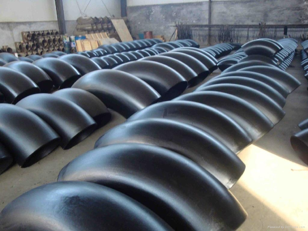 Carbon Steel Seamless Buttweld A420 WPL6 SCH40 LR Pipe Fitting Elbow