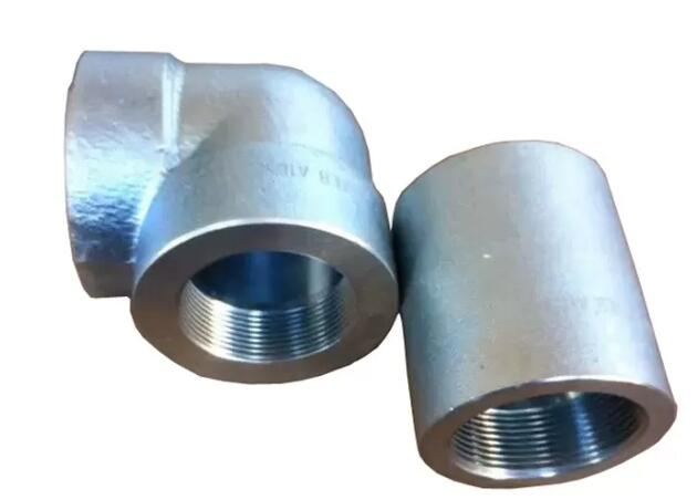 ASME B 16.11 A105 Stainless Steel Forged Socket Pipe Fittings Elbow