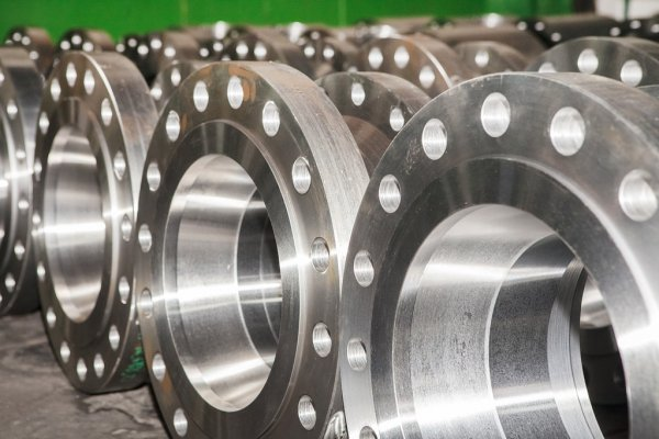 ANSI 304 Stainless Steel Forged BS4504 RF Threaded Flange