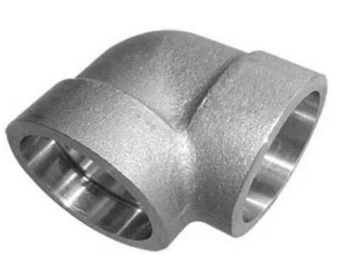 High Pressure Customized Forged Steel Socket Pipe Fittings Elbow